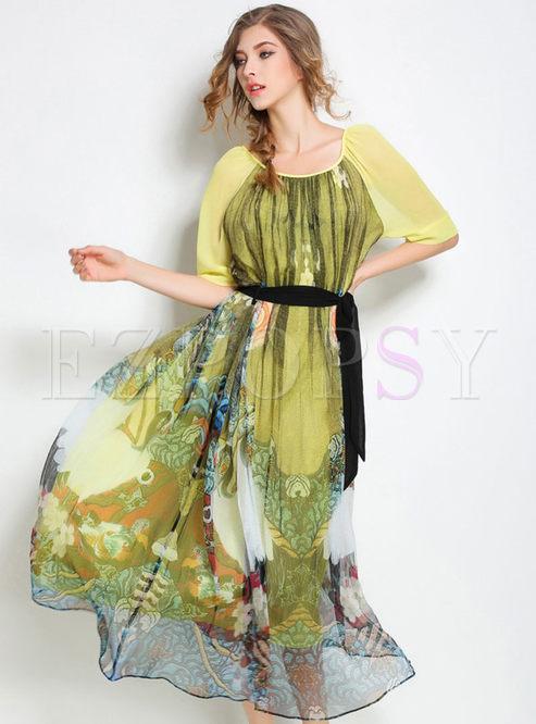 Plus Size Silk Dress Ibovnathandedecker