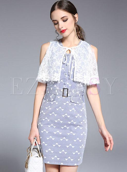 Ebay Sleeveless Bodycon Neck Dresses Printed V Letters pumps