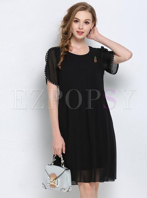 4e6f4cfadc79 Skater Dresses.   Black Mesh ...