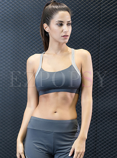 Brief Quick-dry Yoga Sport Bra