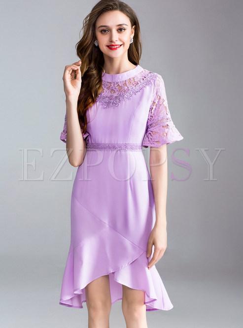 6b3440365ef7 Bodycon Dresses.   Light Purple ...