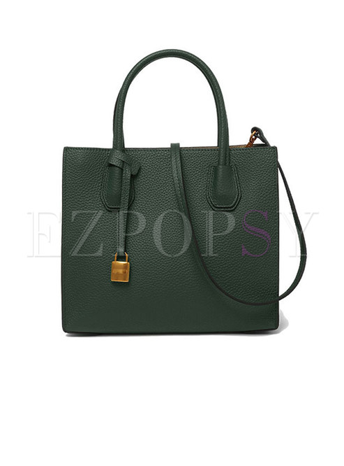 Brief Fashion Open-top Crossbody & Top Handle Bag