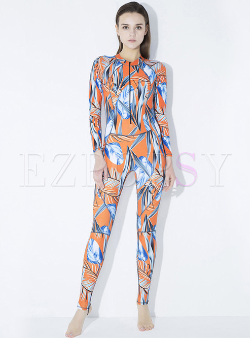 Stylish Multicolor Quick-dry Slim Tracksuit