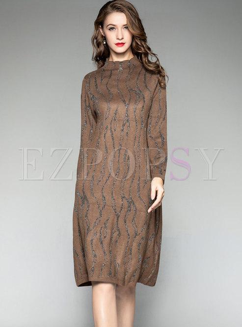 eb19b2c6dd52 Knitted Dresses.