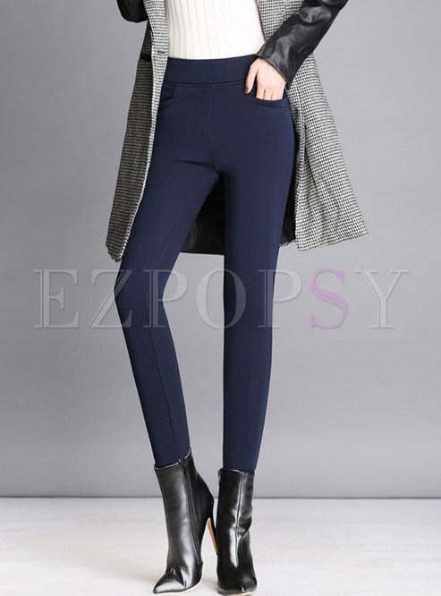 d3fe47e3db9 Pants.   Winter Plus Velvet Thick Plus Size Warm Pants