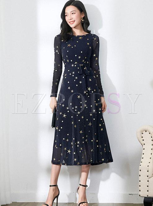 A-Line Maxi Dress Pattern