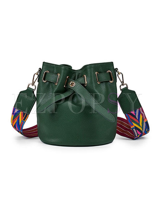 Fashion Easy-matching Bucket Crossbody Bag