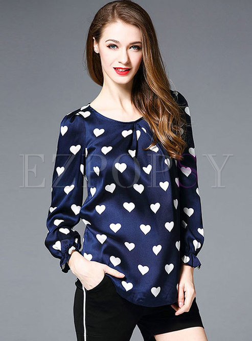 Casual Loose Pullover T-shirt