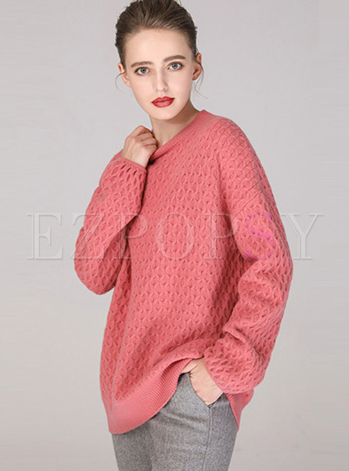 Casual Loose Thick Pullover Sweater