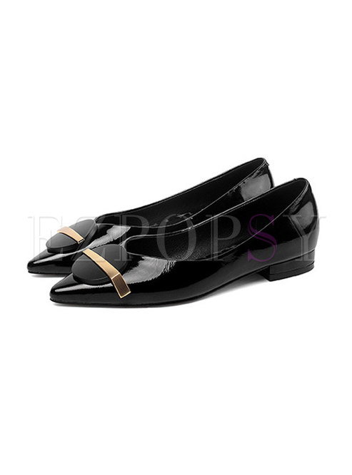 Pointed Toe Flatform Pumps Shoes