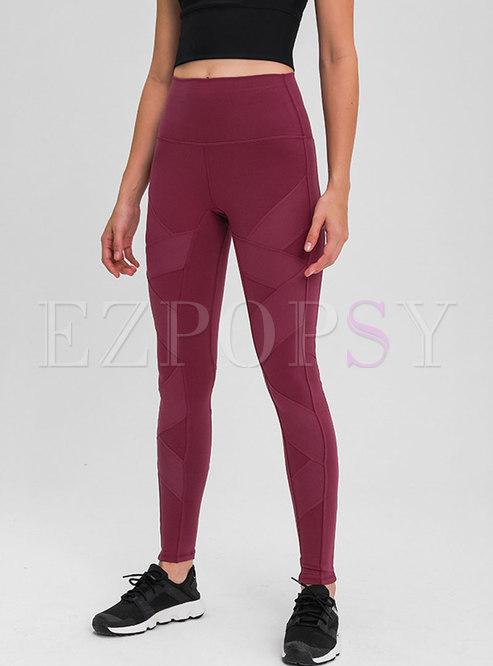 High Waisted Tight Sports Yoga Pants