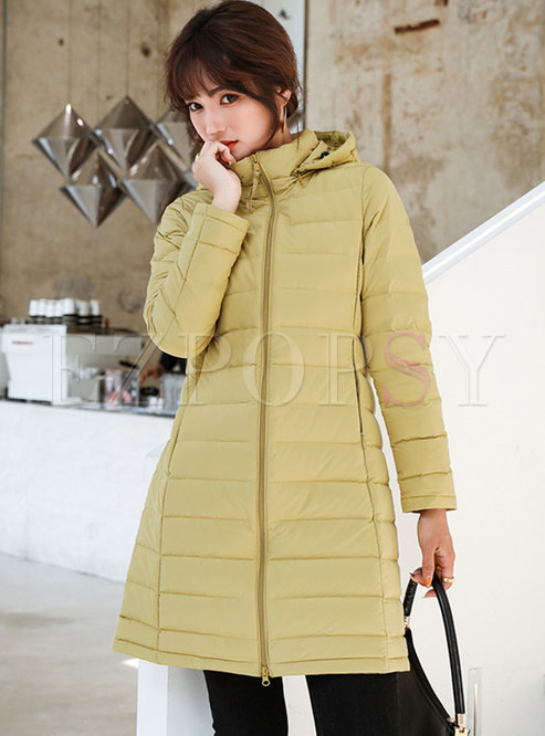 Removable Hooded Lightweight Loose Puffer Coat