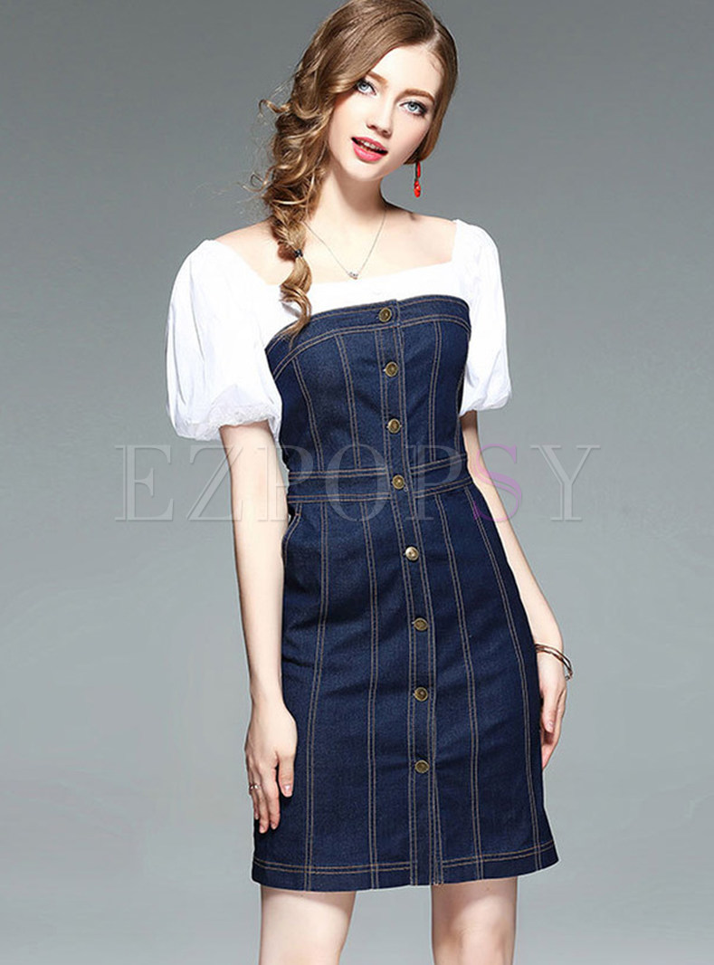 Find great deals on eBay for Cute Denim Dress. Shop with confidence.