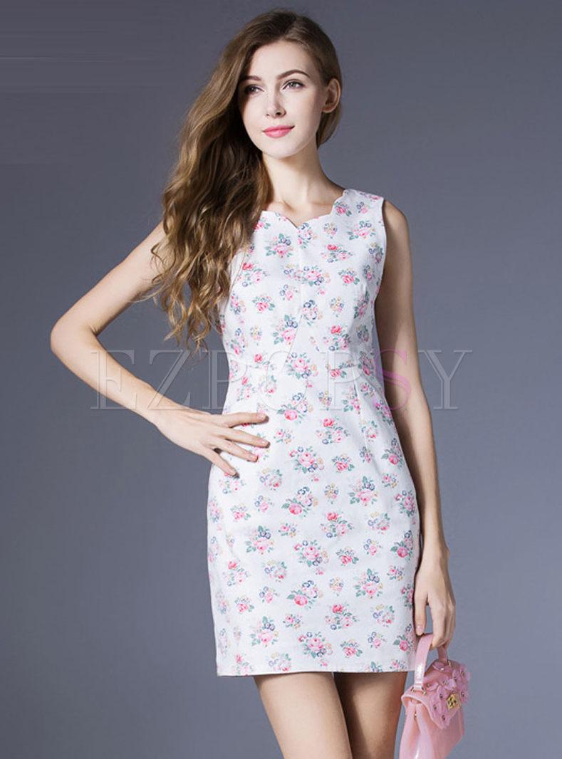 Jumia sheer Letters Sleeveless Printed Bodycon V Dresses Neck
