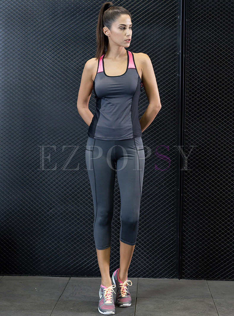 Sport Scoop Breathable Quick-dry Tracksuit