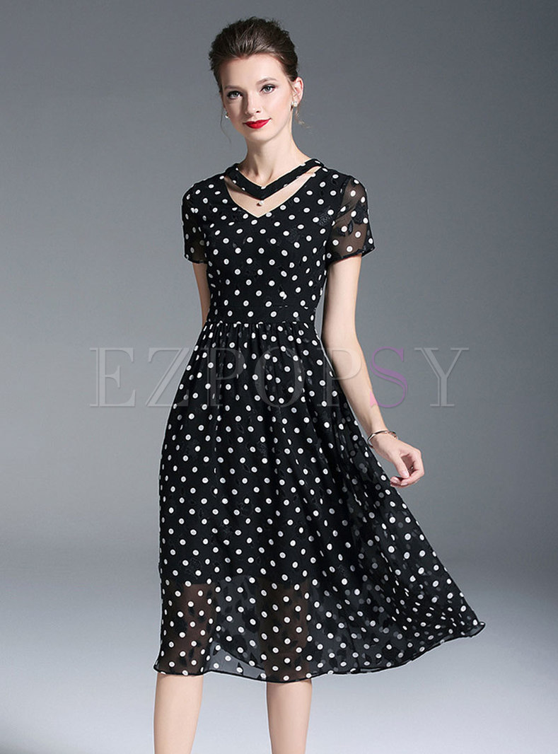 51faa4b06be0 black and white chiffon dresses – Little Black Dress | Black Lace ...