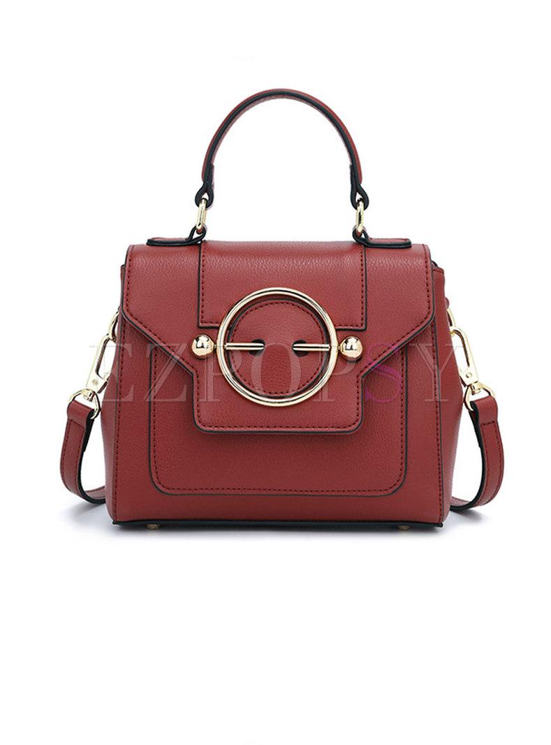 Jujube Red Top Handle & Crossbody Bag