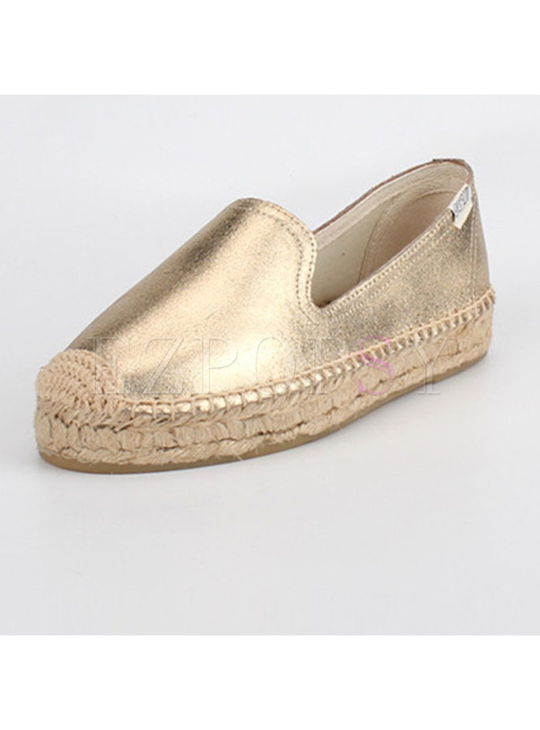 Casual Women Genuine Leather Flat Daily Loafers