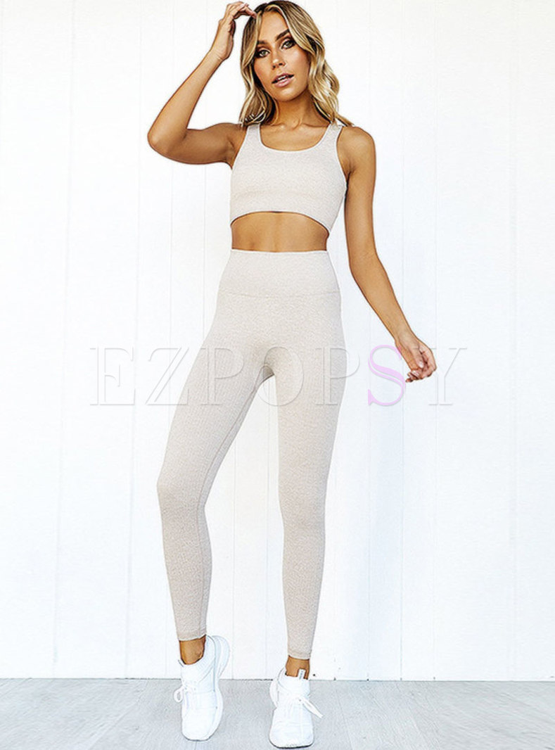 Brief Quick-drying Pure Color Comfortable Tracksuit