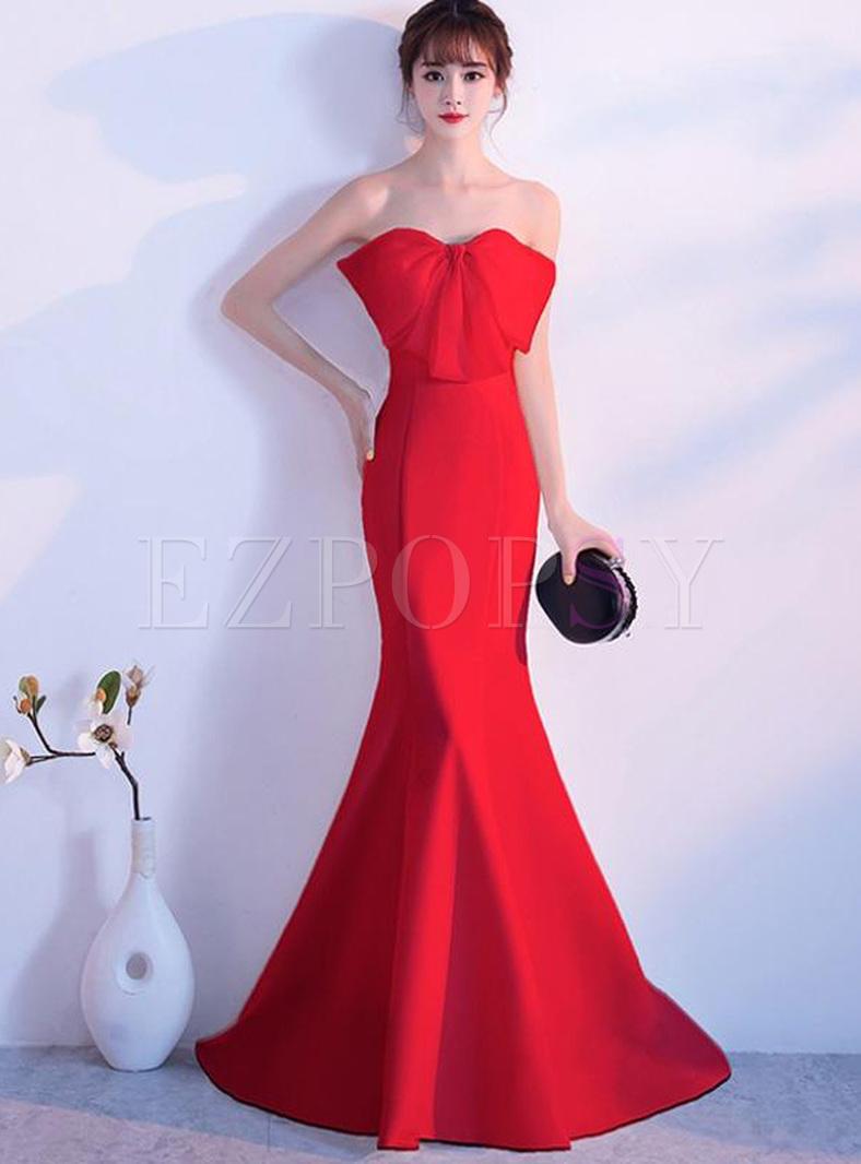 Solid Color Slash Neck Sleeveless Maxi Dresses