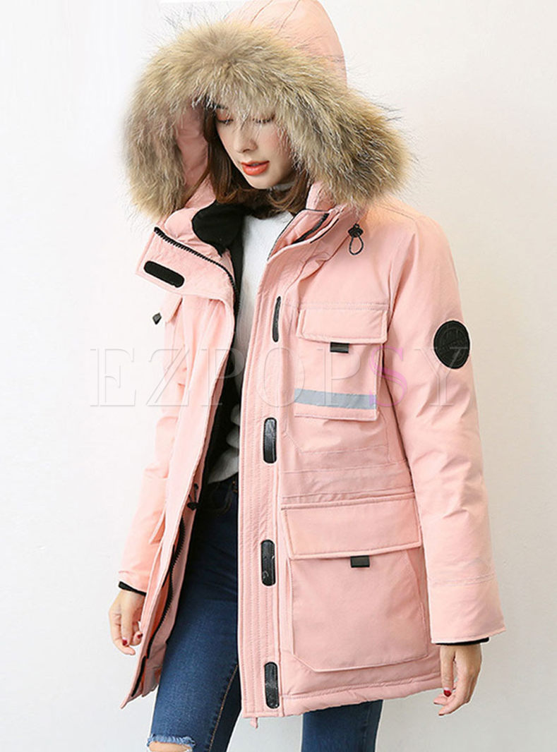 Hooded Loose Thicken Down Coat