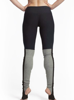 Chic Elastic Tight Dry Fit Yoga Fitness Stirrup Leggings