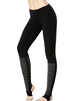 Chic Elastic Tight Dry Fit Yoga Fitness Stirrup Leggings