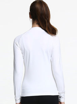 Casual Slim Long Sleeve Sports Yoga Coat