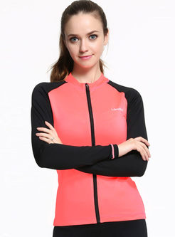 Casual Slim Long Sleeve Sports Yoga Coat