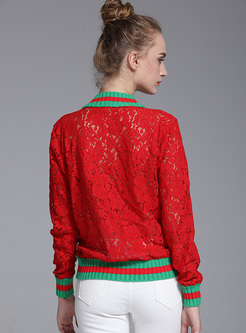 Stylish Butterfly Embroidery Straight Sweatshirt