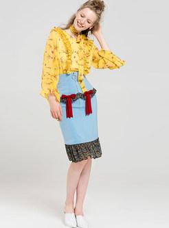 Cute High Waist Mermaid Skirt