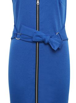 Chic Falbala Zippered Bodycon Dress