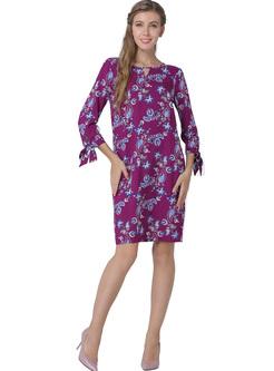Casual Floral Print Shift Dress
