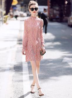 Street Floral Print Asymmetric Shift Dress