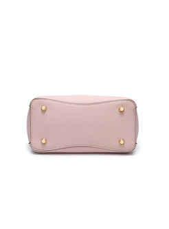 Sweet Pink Top Handle & Crossbody Bag