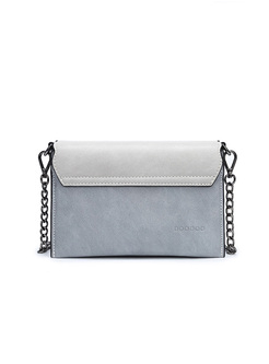 Brief Color-blocked Crossbody Bag