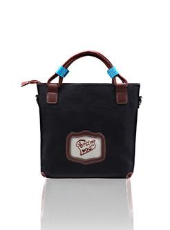 Vintage Embroidery Top Handle Bag