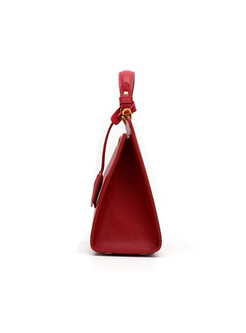 Brief Clasp Bag Top Handle Bag