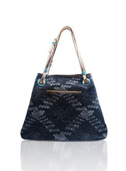 Casual Girl Embroidery Top Handle Bag