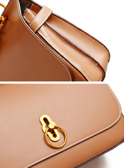 Vintage Cowhide Leather Crossbody & Top Handle Bag