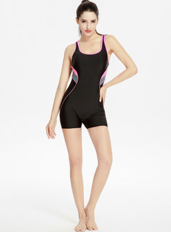 Brief Off Back One-piece Swimwear