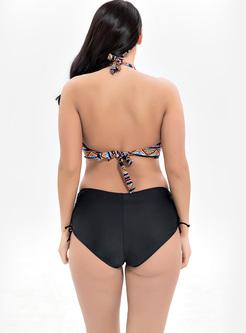Bohemia Geometric Print Bikini