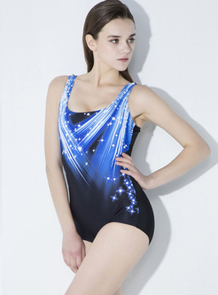 Brief Digital Print Swimwear