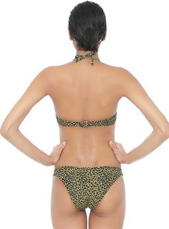 Sexy Leopard Print Venus Bikini