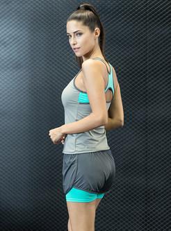 Fashion Scoop Sleeveless Yoga Top