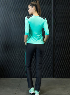 Three Quarters Sleeve Sport Tracksuit