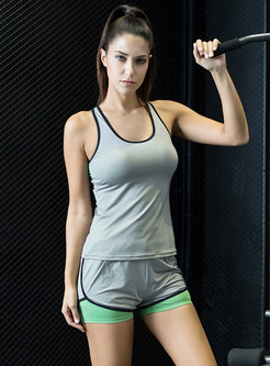 Fashion Scoop Sleeveless Yoga Top