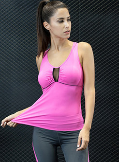 Stylish Scoop Perspective Yoga Top