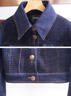 Deep Blue Street Long Sleeve Jacket