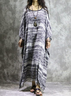 Casual Cotton Plus Size Long Dress